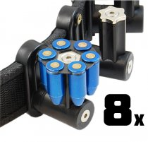 Combo: 8x DAA Magnetic 6 shot 45 Moon-Clip Holder