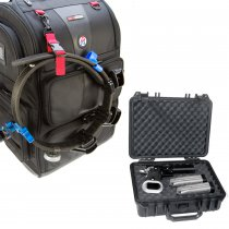 Combo: Rangepack Pro and CED Medium Hard Case
