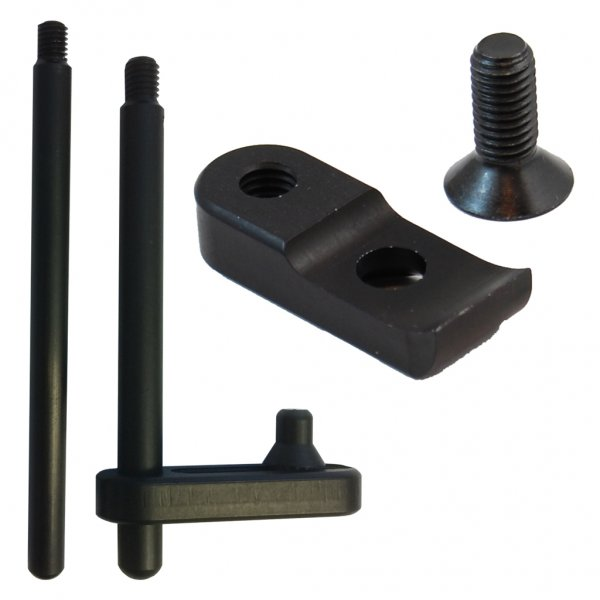 Combo: Muzzle Support, Revolver Adaptor and Extension Rod