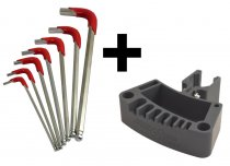 Combo: DAA Reloading Press Tool Holder and Hex Key Set