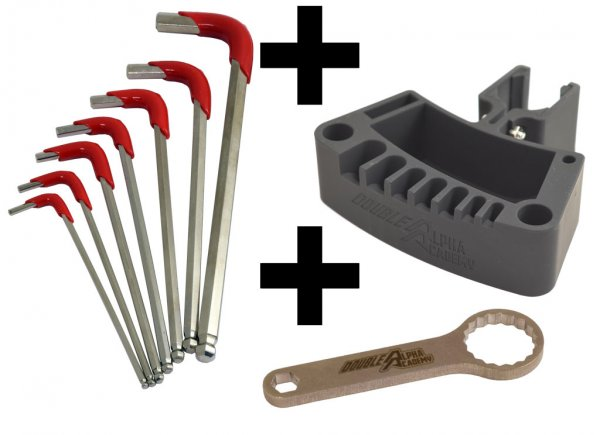 Bundle - DAA Reloading Tool Holder, Hex Key and Wrench