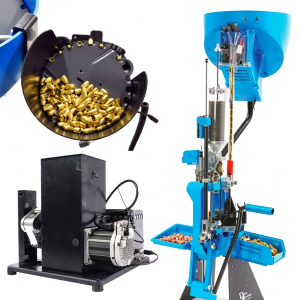 Dillon 750 Press, Mark 7 Autodrive and Mr.Bulletfeeder