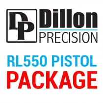 CED/DAA/Dillon 550 Reloading Package - Pistol