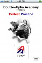Perfect Practice - iPhone / iPod Touch Application 1