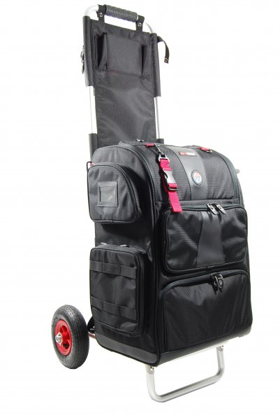 Combo: Rangepack (medium size) and Rangecart Pro