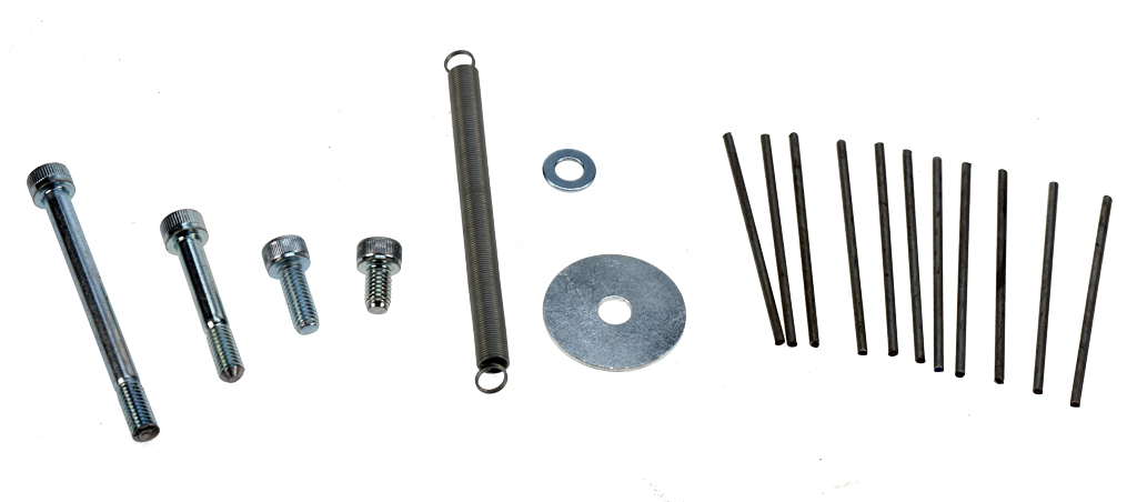 Roll Sizer - Standard kit of spare parts - PSTL