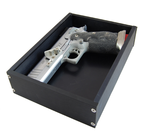 IPSC Standard Division Box Top View