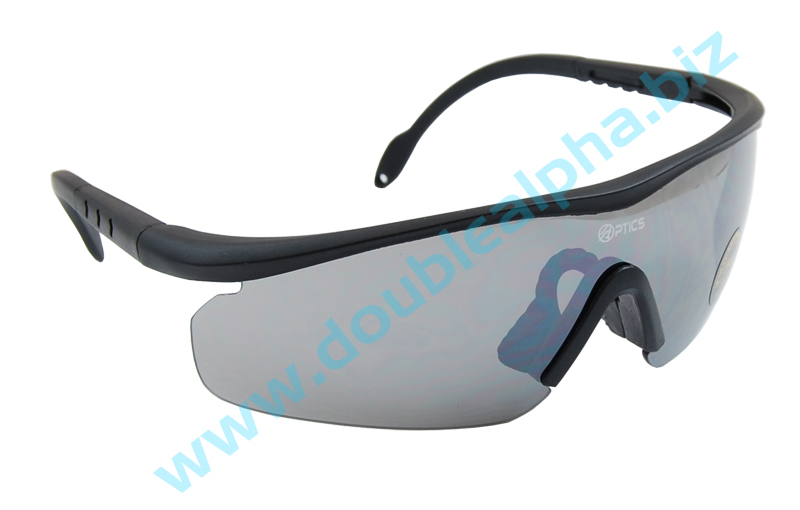 DAA Optics Model Lima IPSC Shooting Glasses Black Lens