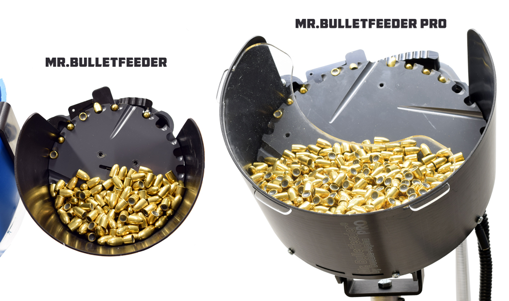 Mr.Bulletfeeder Pro vs. Mr.Bulletfeeder
